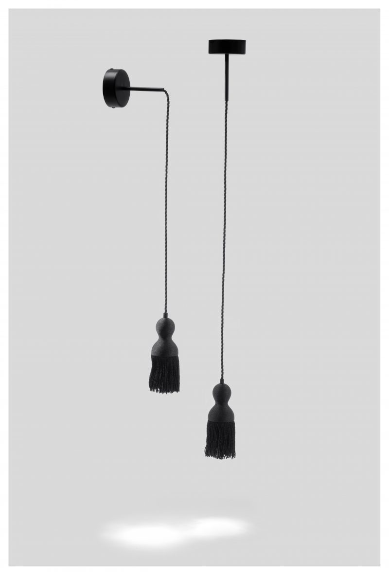 EMPIRE ceiling light x1 black