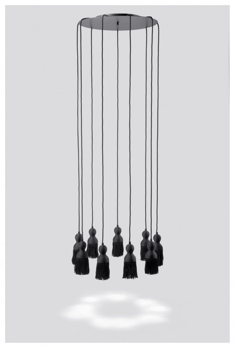 EMPIRE chandelier black