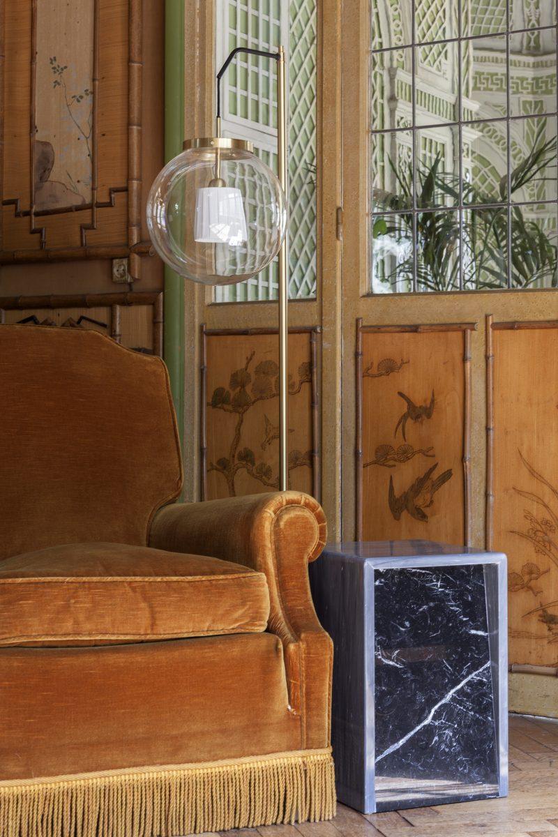 Lamp KING SUN edition ASCETE design Pierre Gonalons in situ 1