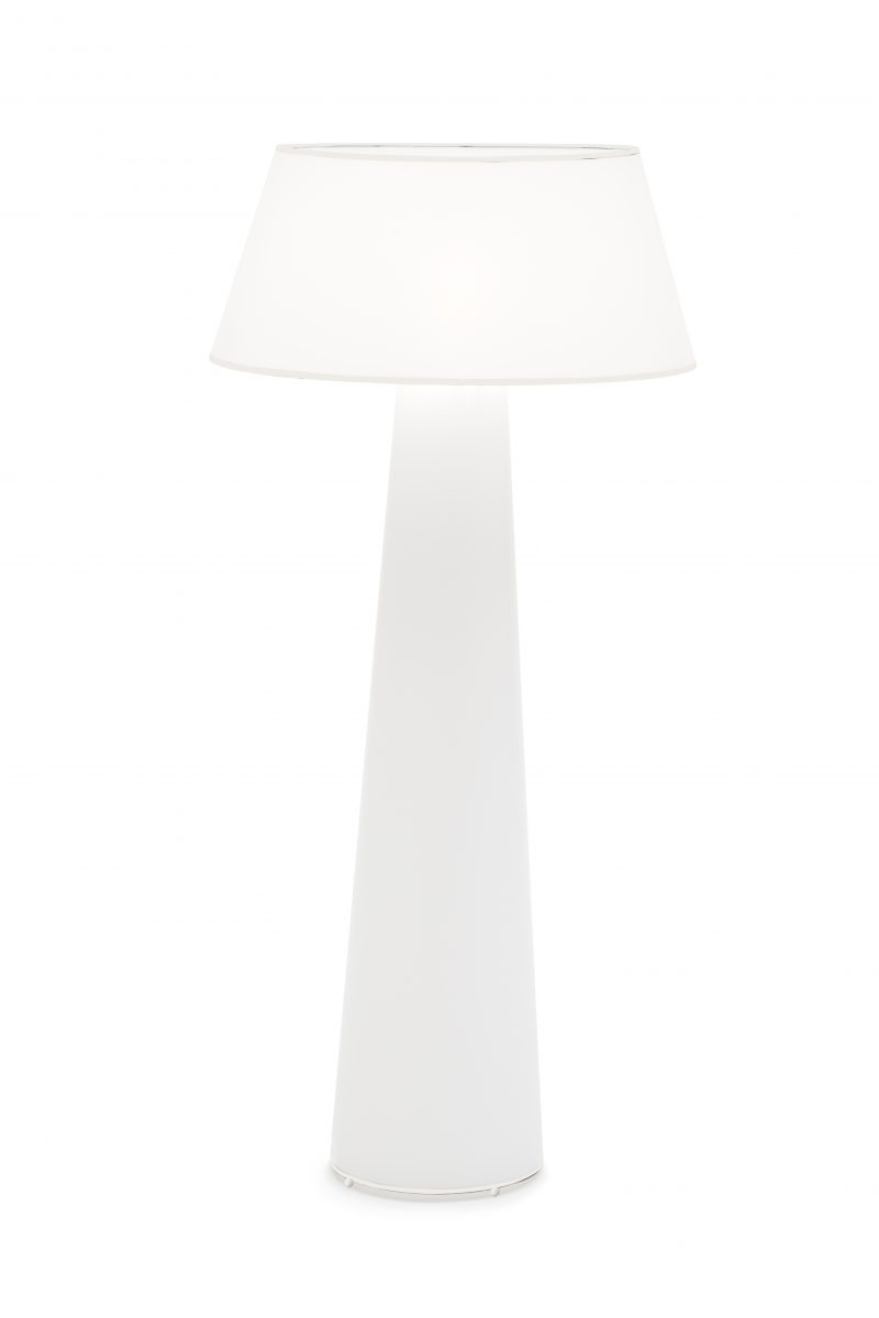 CAP floor lamp full blanc